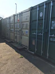 cheap local                 container and saferoom storage gosport